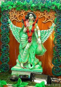 Saraswati Murti, Durga Ji, Saraswati Goddess, Shiva Shakti, Saraswati Photo, Kali Mata, Mata Rani, Baby Krishna, Hindu Mantras