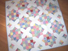quilts from Open a Can of Worms | 1930's BABY QUILT