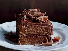 Our best chocolate dessert recipes include a rich rich chocolate layer cake and easy fudgy chocolate brownies. Plus more chocolate desserts. Perfect Chocolate Cake, Amazing Chocolate Cake Recipe, Just Desserts, Dessert Recipes, Layer Cake Recipes, Layer Cakes, Frosting Recipes, Butter Frosting, Chocolate Desserts