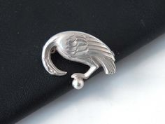 Theodor Fahrner Bird Brooch Pin German 925 Silver Art Nouveau | Etsy