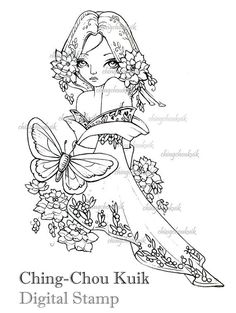 Resultado de imagem para Art of Ching-Chou Kuik (Original Art and Digital Stamp)