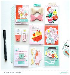 Pocket letter with the May This Life Noted kit (by DT Nathalie Leonelli)