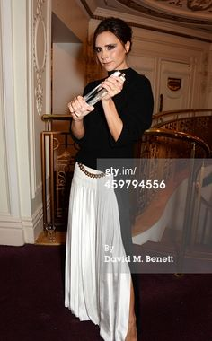 News Photo : Victoria Beckham winner of the Best Brand award...