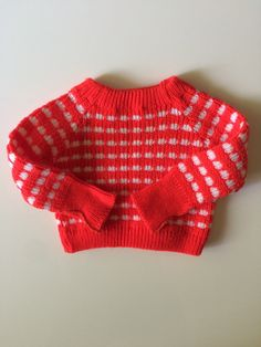 Vintage Toddler Christmas Sweater for sale here https://www.etsy.com/listing/239169045/vintage-red-and-white-dotty-acrylic?ref=shop_home_active_1 #vintage #babyvintageclothes #vintagebabyclothes #baby #babyclothesforsale #vintagebaby #vintagestyle #vintagebabystyle #babystyle #babyclothes #estyshop #estyvintage #etsyvintageshop #toddlerclothes #toddlervintage