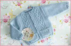 TUTORIAL Patrón chaqueta de bebé de lanas Katia. Merino classic