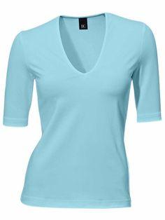 BEST CONNECTIONS Kurzarm-Shirt blau