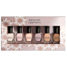 Deborah Lippmann Undressed - Nude Nail Polish Set