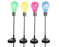 Kerti dekorációk : Napelemes lámpa