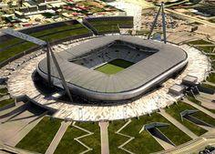 Juventus Stadium en Torino, Piemonte
