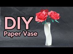 How to make a paper Vase (Dancing Vase, by Tadashi Mori) - YouTube