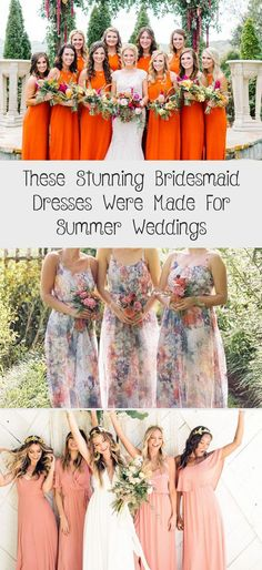 The Most Stunning Summer Bridesmaid Dresses Of 2018 #ElegantBridesmaidDresses #BridesmaidDressesPastel #LavenderBridesmaidDresses #BurgundyBridesmaidDresses #LilacBridesmaidDresses