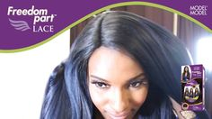 FreeTress Equal Synthetic Hair Wig Freedom Part 102 - SamsBeauty Synthetic Wigs, Lace Wigs, Wig Hairstyles, Equality, Freedom, Dreadlocks, Hair Styles, Pretty, Model