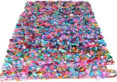 Flickenteppich recycle Teppich 140x200 cm UNIKAT Patchwork Vintage Carpet | eBay
