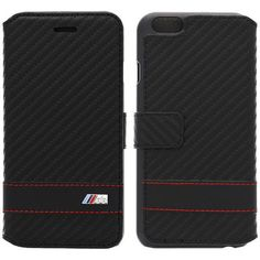 Official bmw m collection #carbon #black #stripe book case cover for apple iphone,  View more on the LINK: http://www.zeppy.io/product/gb/2/151491875680/