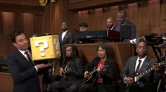 Obviously the 'Super Mario' theme song played by its creator and The Roots is perfect