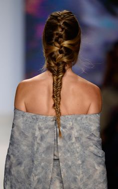 Project Runway: Intricate Braiding #MBFW