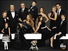Modern family. I cannot love this show more than I do. I love this show because it shows how dysfunctional families could be. They are not the perfect family and there are always problems. This is one of the few shows that show this.