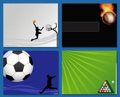 Sports / Games #free powerpoint templates #powerpoint templates #templates powerpoint