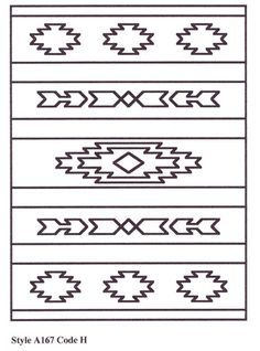 southwestern design – after my trip to az :) – Tattoo Pattern Native American Design, Native Design, Native American Patterns, Loom Beading, Beading Patterns, Motif Navajo, Navajo Pattern, Navajo Rugs, Southwestern Quilts