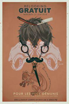 perruque ecureils crane ciseaux moustache demunis quebec