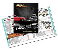 """<p><strong>PERFORMANCE ONLINE'S """"BOOK OF TRICKS""""</strong> 2017parts catalog is a must when in the market for Classic car and truck Brakes, Suspension Parts, Steering Conversions, Chassis components and Accessories items, which includes Headers, engine pulleys, billet hood and trunk hinge kits and much, much more.</p> <p><span s..."""