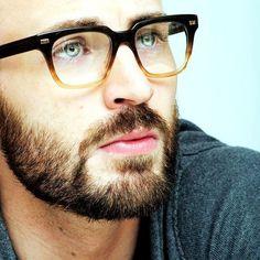 Chris Evans.  Love, Love, Love this look!