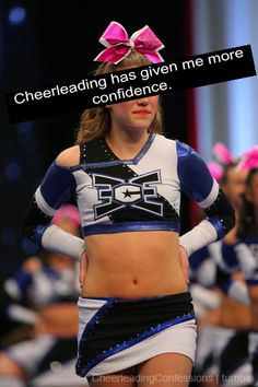#CheerleadingConfessions Reasons for you to cheer