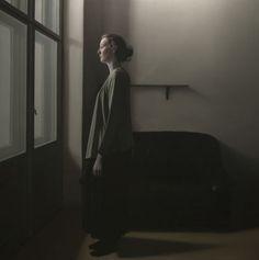 "Saatchi Art Artist Daniel Gonzalez Coves; Painting, ""Girl and window"""