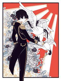 Hetalia (ヘタリア) - Japan (日本) - National Foundation Day 2/11!