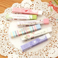 Ann Fresh And Creative Rubber Eraser Cute Colored Bars Korea School Supplies Stationery Cute Kawaii