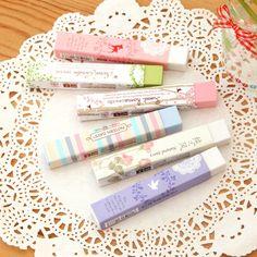 Ann Fresh And Creative Rubber Eraser Cute Colored Bars Korea School Supplies Stationery Cute Kawaii