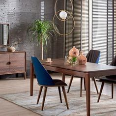Mobilier Dining - Alfemo Dining Chairs, Dining Room, Apartment Living, Layout, Furniture, Design, Home Decor, Decoration Home, Page Layout