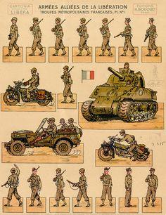 Sherman Tank and Jeep