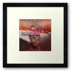 """Crown of Rain Water Jesus (by ACCI)"" Framed Art Print by VanyssaGraphics | Redbubble Framed Art Prints, Canvas Prints, Buy Crown, Original Art For Sale, Fine Art America, Art Drawings, Rain, Water, Artist"