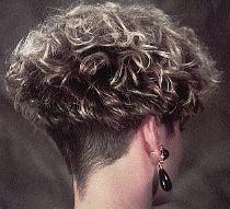 one of my top 5 favorites Short Permed Hair, Grey Curly Hair, Short Curly Haircuts, Short Curls, Short Hairstyles For Women, Short Hair Cuts, Curly Hair Styles, Wedge Hairstyles, Permed Hairstyles