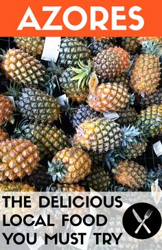 What & Where to eat in São Miguel island, Azores. Hope you are hungry!  #food #portugal #azores #acores #saomiguel #travel #pineapples  @visitportugal @visitazores