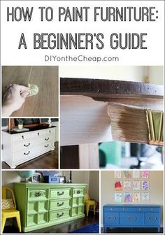 Everything you need to know about how to paint furniture the RIGHT way! Get a professional looking finish every time.
