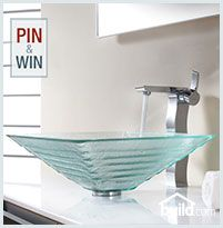 Enter to Win Kraus C-GVS-910-15mm-14600 with KEF-14600 from Build.com 1. Enter to Win via Facebook ( http://bld.cm/S3QOHp ) 2.  Follow Build.com on Pinterest 3. Pin your Favorite Krause Sink and Faucet Combo!  #EndlesslyCreativeKraus #KrausPinItToWinIt  #builddotcom