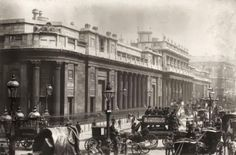 galleries, circa 1890, england circa, curious histori, threadneedl street, victorian london, bank of england, 1800s, britain