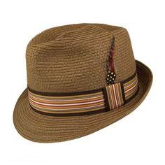 6723584971a Ridley C-Crown Fedora Hat available at  VillageHatShop Jaxon Hats