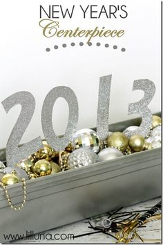 Remodelaholic | 32 Best Ideas for New Year's Eve