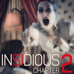 Insidious Chapter 2....  WAY better than the first.  Good for some cheap thrills.  Terrible actress that plays a young Elise though, thank god she isn't in it for very long....lol