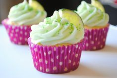 Homemade By Holman: Margarita Cupcakes