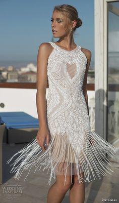 Vestido de noiva com franjas é tendência- Casamento em Gramado