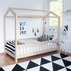Bed Time in this amazing bedroom!  #furnituredesign #kidbedroom #kidsroom #kidfriendly #bedroomdecor