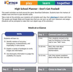 This remote learning toolkit for families includes weekly planners with grab-and-go ideas for fun and easy civic learning. The site links families to our educational games, materials for young learners (ages 7-10), and the Parents Corner with on-demand webinars and tips for using iCivics. Your child can play their way through a series of games each week, claim badges, share their successes, and learn important civics lessons on the journey to becoming a Civic Boss.