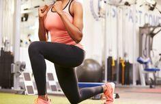 Workout: lunge voor benen en buikspieren