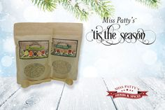 Miss Patty's 'Tis the Season brings unmatched flavor to this holiday season. This beautiful gift of Miss Patty's Original and Garlic Fusions features our most popular duo of premium herbs and spices, each masterfully designed to transform any dish into an extraordinary masterpiece! Each beautiful gift set arrives in a festive gift box (autumn or winter) and is finished with a gold bow.  Visit http://misspattysspices.com/product-category/miss-pattys-seasonal-gift-sets/ today!