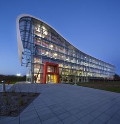 Administrative Building of Glaxo Smith Kline in Quebec by Co Architecture ☮k☮ #architecture