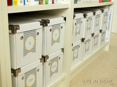Life in Eight - Home Decorating & Organizing Blog: Home Office: Reveal Time!